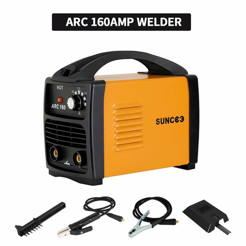 Portable Stick Welder ARC-160 Welding Machine 110V 160 Amp w/Mask+Brush Yellow