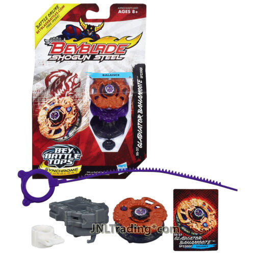 Year 2013 Beyblade Shogun Steel Battle Tops SP230GF SS-27 GLADIATOR BAHAMOOTE
