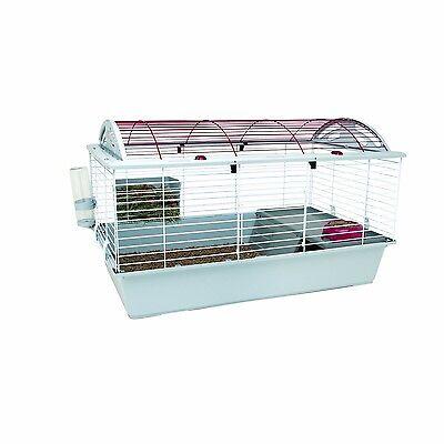 Large Pet Cage Rabbit Hutch Guinea Pig Ferret Chinchilla Small Animal House, New