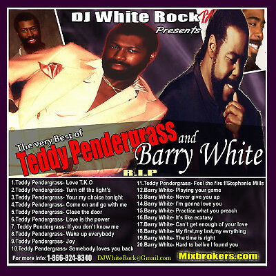 DJ White Rock Best of Teddy Pendergrass & Barry