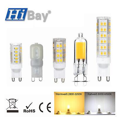 3-10X G9 LED Birne 3W 5W 7W Warmweiß Leuchtmittel führte Energiesparlampen 230V