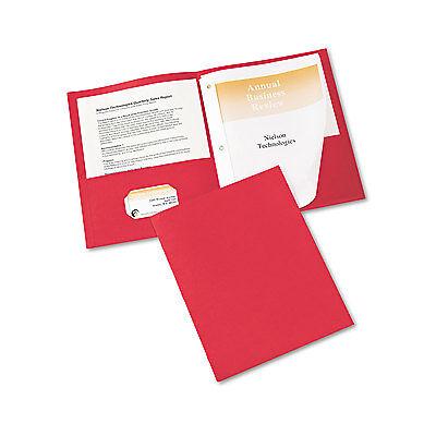 Avery Two-Pocket Folder Prong Fastener Letter 1/2