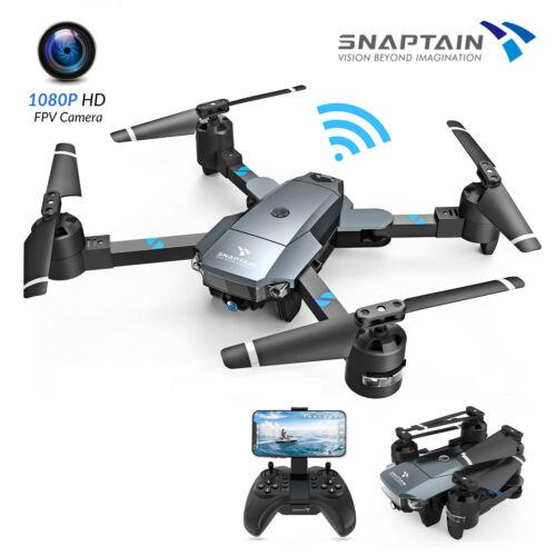 SNAPTAIN A15F RC Drohne WiFi mit 1080P HD Kamera Bürstenloser FPV Drone +2 Akkus