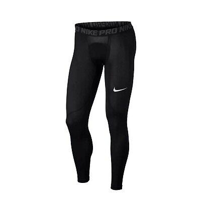 Pro Tight Hose (Nike Pro Herren Tight Hose schwarz Sporthose Jogging Hose Dry-Fit Material)