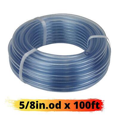 Vinyl Tubing 100ft Hvac Drain Hose Ac Condensate Pump 12in Id Water Tube Clear