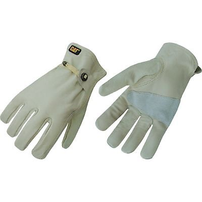 Mens Unlined Leather Driver Gloves Cat M - L New