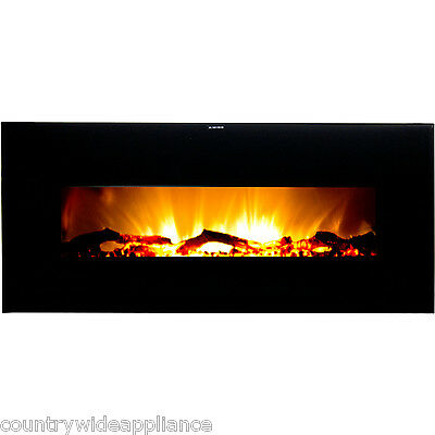 "Warm House Valencia 50"" Extensive Sift Try Hanging Electrifying Fireplace VWWF-10306"