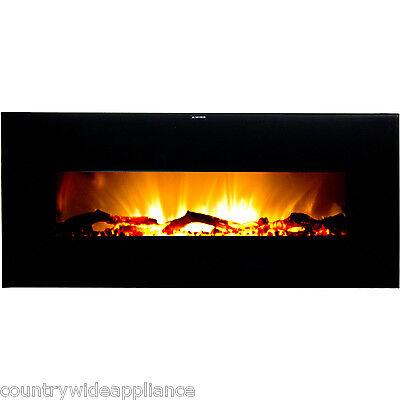 "Warm House Valencia 50"" Wide Screen Wall Hanging Electric Fi"