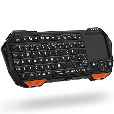 Mini Wireless Keyboard, Fosmon Portable Lightweight  Bluetoo