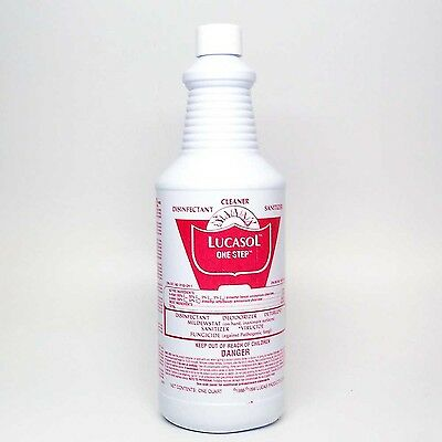 Lucasol Disinfectant 32oz Tanning Bed Cleaner 32 Oz New Free Shipping