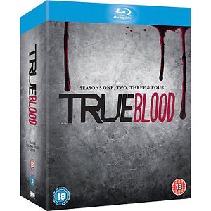 True Blood Seasons 1-4 1 2 3 4 Complete Set (Blu-ray, 2012, 20-Disc Set) NEW!!!
