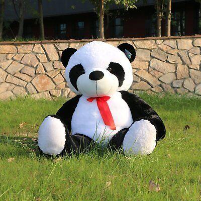 """Joyfay Giant 63"""" 160 cm Panda Bear Stuffed Plush ToyChristmas Gift"""