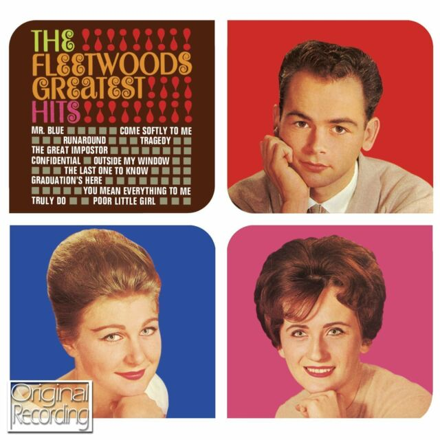 The Fleetwood's Vocal Trio ~  Greatest Hits NEW SEALED CD BEST OF 1959 - 1962