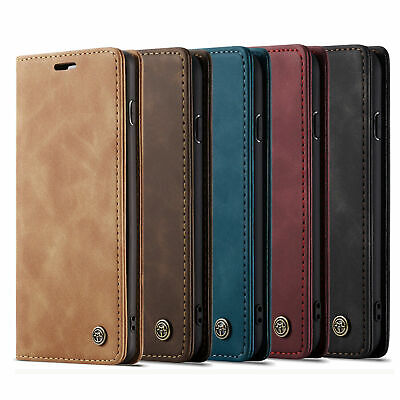 For iPhone 11 Pro 6 7 8 Plus Xs Max Xr Leather Flip Wallet Case Card Stand Cover