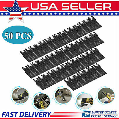 50 Pcs Oscillating Multi Tool Saw Blades For Fein Milwaukee Porter Cable Makita