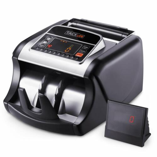 Money Counter with UV/MG/IR Detection, Bill Counting Machine with Counterfeit De