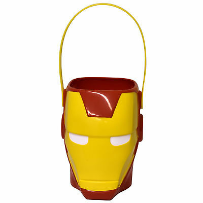 Holloween Candy (Avengers Iron Man Hard Plastic Candy Pail Easter Holloween Marvel Comics)