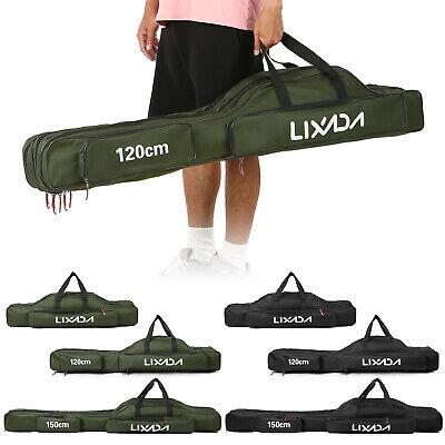 ambestore Angelt Taschen Set 120 cm und 150 cm Angler Angeltasche Teleskoprute Rutentasche Tasche Transporttasche Bag Angelkoffer Angel Camping