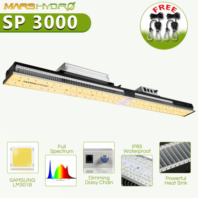 Mars Hydro SP3000 LED Grow Light for Flowe 2x4 ft Coverage 960Pcs Samsung LM301B