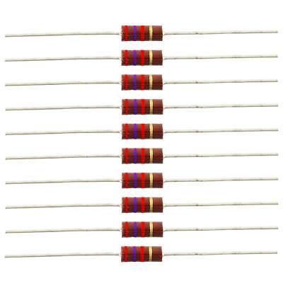 12 Watt Carbon Comp Resistors - 2.7k Ohm 10 Pack