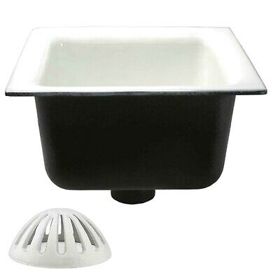 Gsw Floor Sink With Dome Strainer 12x 12x 6 For Restaurantbarbuffet Fs1262