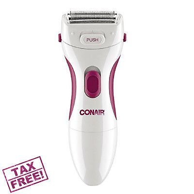 Women Electric Shaver Razor Ladies Wet Dry Battery Hair Remover Removal Leg Body