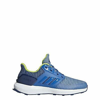 Kids Adidas Boys RapidaRun Low Top   Running Sneaker, Blue, Size 5.0 Oq25