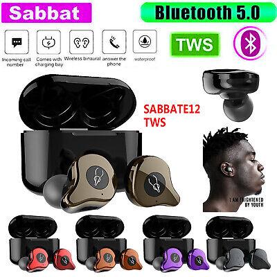 Sabbat E12 Ultra TWS BT5.0 Earphone Stereo Handsfree Earbuds Headset +Charge box