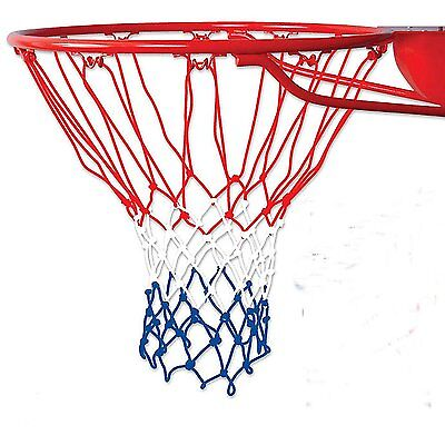 """UNITED ATHLETIC BASKETBALL NET 21/"""" BRAIDED NYLON OFFICIAL SIZE NEW IN PACKAGE"""