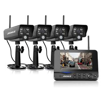4 CHANNEL DIGITAL WIRELESS SECURITY SYSTEM
