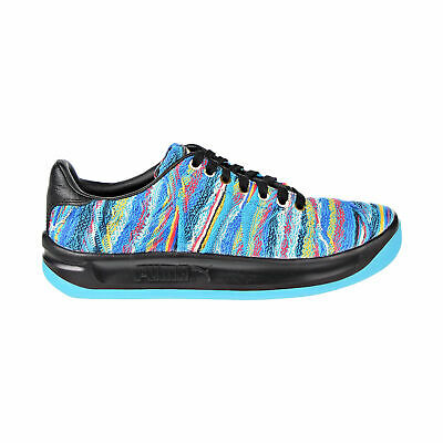 Men's Puma x Coogi California Multi Shoes Blue Atoll Sweater Black 367973-01