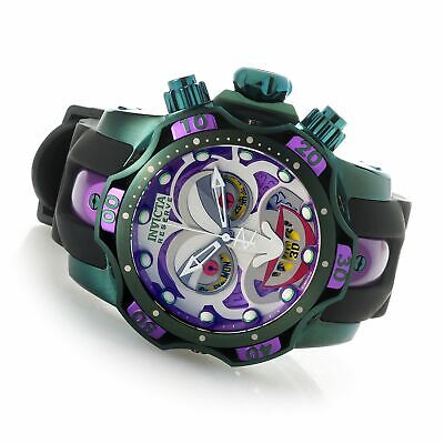 Invicta DC Comics Joker Men's 52mm Venom Ltd Ed Swiss Quartz Watch 26790