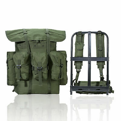 Military ALICE Pack Combat Tactical Army Backpack w/Frame Olive Drab