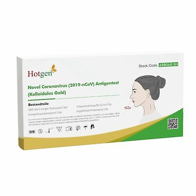Corona Laien Test Schnelltest Hotgen Antigen Selbsttest Nasal Testkit BfArM