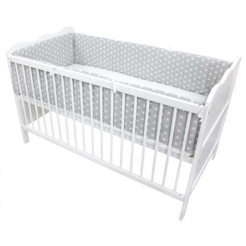 Babybett Nestchen Bettumrandung Nest Kopfschutz 70x140 und 60x120