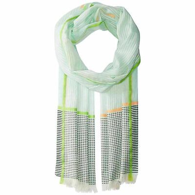 (NWT) Echo Women's Beach Glass Off the Grid Cotton Wrap/Scarf ONE (India Summer Glasses)