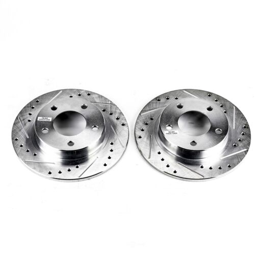 Probe 626 MX6 Protege Protege5 Front Rotors w//Ceramic Pads OE Brakes