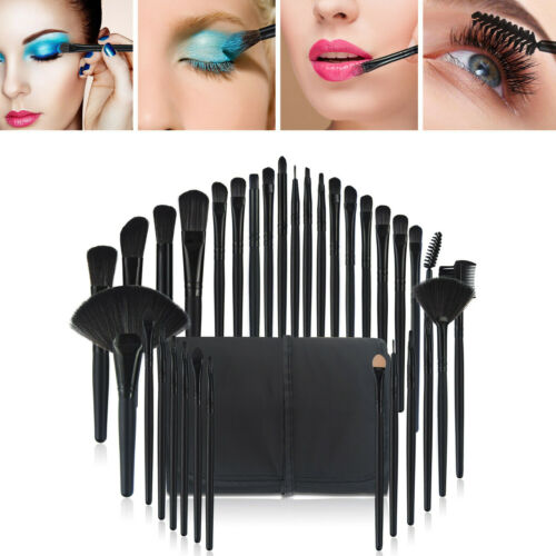 32pcs Makeup Brushes Set Face Powder Eyeshadow Lip Pencil Br
