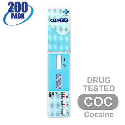 MiCare [200pk] Cocaine (COC) Dip Card Urine Drug Test #MI-WDCO-114