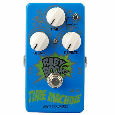 Biyang AD-10 Time Machine Analog Delay Guitar Effects Pedal Baby Boom Series New