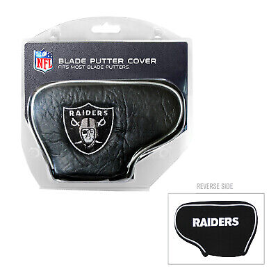 NFL Oakland Raiders Blade Putter Cover Golf Headcover Course Club Bag AFC ()