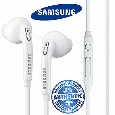 (New Genuine Samsung Galaxy S7 Edge S6 Note 4 3 S5 Headphones Earphones Handsfree)