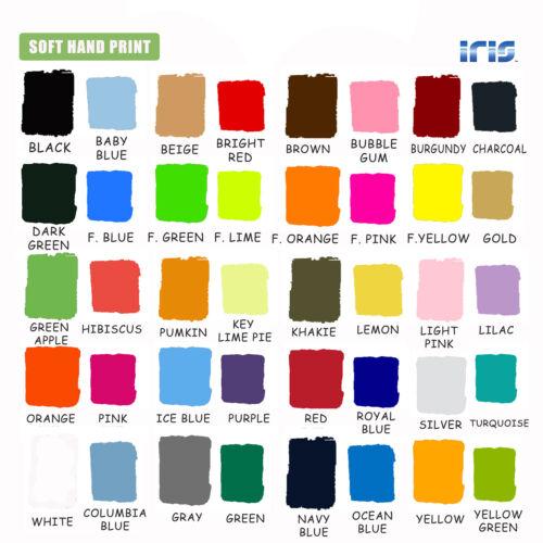 "IRIS Heat Transfer Vinyl HTV for T-Shirts 9.875"" x 15 ft Roll"