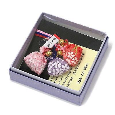 Japanese Traditional Sachets Kimono Chirimen Fabric Fragrance Bags Relax Gift