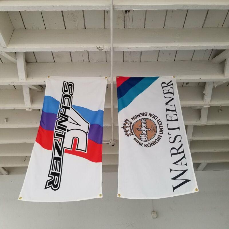 AC Schniter Tuning/ Warsteiner Welt BMW M Sport Garage Banner Set F87 M2 E30 M3