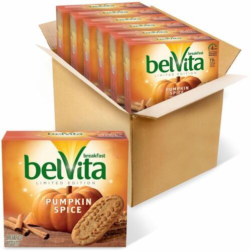 BelVita Pumpkin Spice Breakfast Biscuits 6 Pack LIMITED EDITION