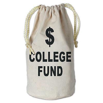 College Graduation Party Favors (College Fund Money Bag Graduation Party)