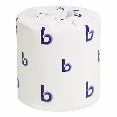 Boardwalk Two-Ply Toilet Tissue White 4 x 3 Sheet 500 Sheets Per Roll Case of 96