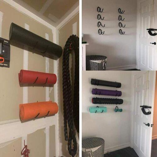 1 foam roller storage rack tower holder