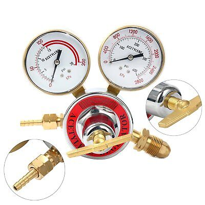 Acetylene Regulator Gauge Cga 510 Welding Gas Torch Cutting